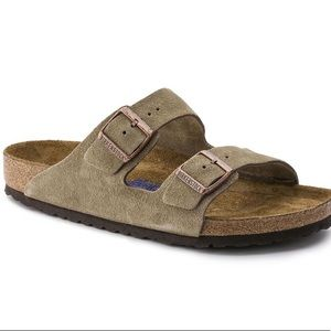 Arizona Birkenstock Suede leather soft footbed